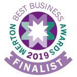 Merton Awards Finalist logo 2019